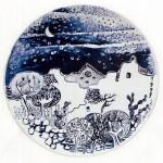 piatto in ceramica adolfo grassi
