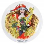 Daniela Romano piatto in ceramica