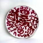 piatto in ceramica carla accardi