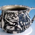 scultura in ceramica franz borghese