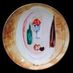 piatto in ceramica gastone breddo