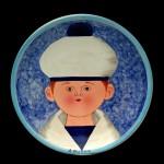 piatto in ceramica antonio bueno
