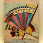 formella in ceramica giuseppe calonaci