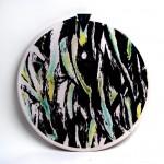 piatto in ceramica sauro cardinali