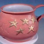 scultura in ceramica enzo carnebianca