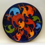 piatto in ceramica maurilio catalano