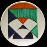 piatto in ceramica carlo ciussi