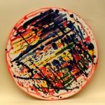 piatto in ceramica antonio corpora