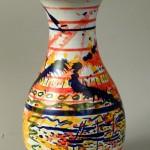 vaso in ceramica antonio corpora