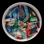 piatto in ceramica giuseppe de gregorio