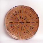 piatto in ceramica piero dorazio