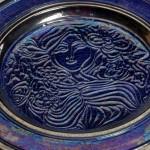 piatto in ceramica angelo ficola