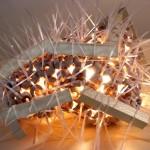 lampada scultura in ceramica marino ficola