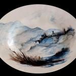 piatto in ceramica luigi frappi