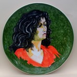 piatto in ceramica renato guttuso
