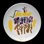 piatto in ceramica riccardo licata