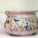 scultura in ceramica romeo mancini