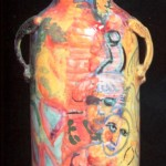 brocca in ceramica roberto panichi