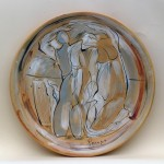 piatto in ceramica fabio piscopo
