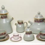 servizio da tè in ceramica paolo portoghesi