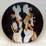 piatto in ceramica francesco vaccarone