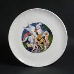 piatto in ceramica franco venanti