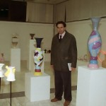 mostra ceramica contemporanea rolando giovannini