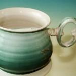 scultura in ceramica mostra comoditas galleria moretti