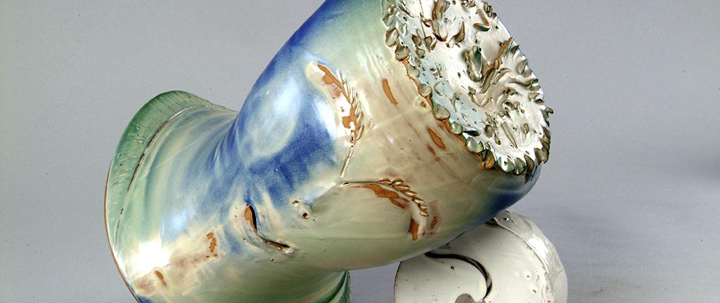 scultura in ceramica bruno ceccobelli