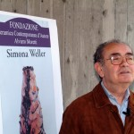 simona weller in mostra presso fondazione alviero moretti