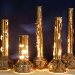 lampade in ceramica bruno ceccobelli