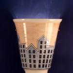 lampada in ceramica mauro andreini
