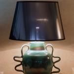 lampada in ceramica l'antica deruta design