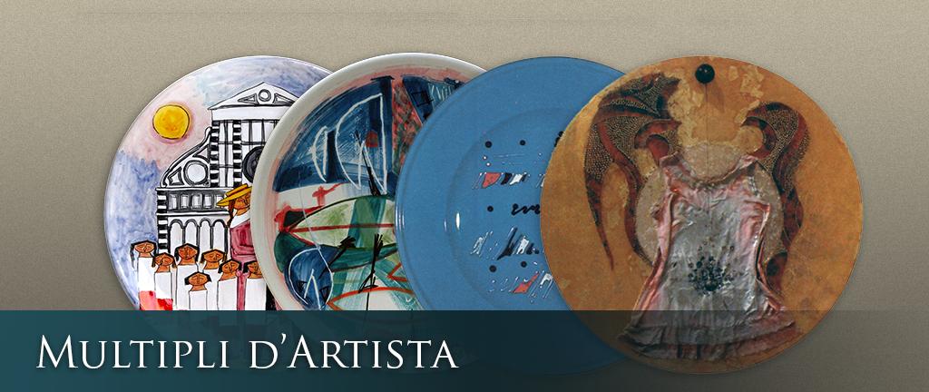 mostra ceramica contemporanea multipli di artista