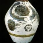 vaso in ceramica manlio bacosi