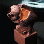 scultura in ceramica manlio bacosi