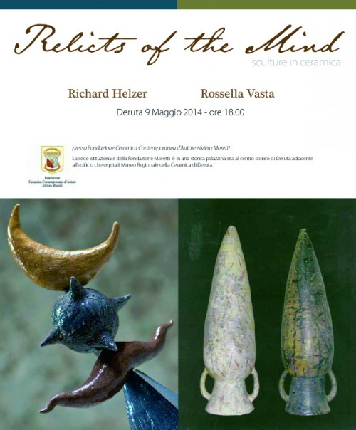 mostra ceramica contemporanea relicts of the mind