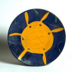 piatto in ceramica tommaso cascella